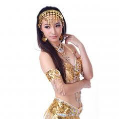 Belly dance Jingle Metal Coin Headband