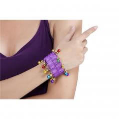 Fashion Belly Dance Jewelry Chiffon bracelet (Pair)