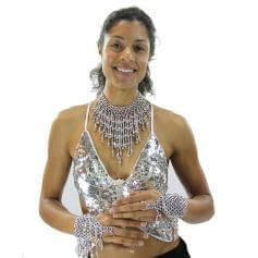 Deluxe Belly Dance Necklace