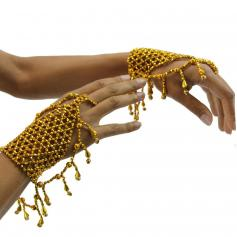 Deluxe Belly dance Jewelry slave bracelet