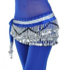258 Coins Belly Dance Belts