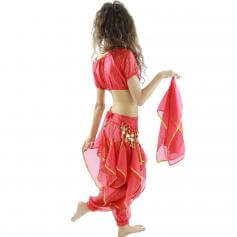 Little Lantern 5-Piece Children Belly Dance Costume