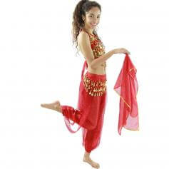 Little chili 5 piece Children Belly Dance Costume