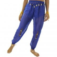 Belly Dance Harem Pants with Coins