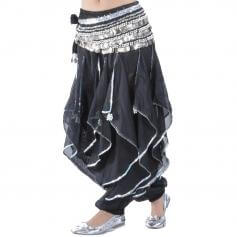 Spanish Gypsy Ruffle Pants