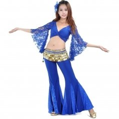 Fish Tail Belly Dance Pants