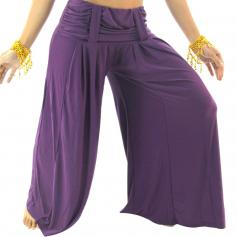 Comfortable Ruched Belly Dance Pants [BELPA010]