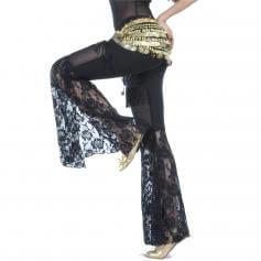 Tribal Style Lace Belly Dance Pants