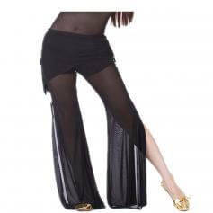 Tribal Style Translucent Yarn Belly Dance Pants