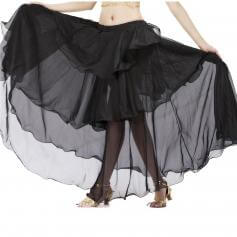 Fashion Chiffon Spiral Belly Dance Skirt