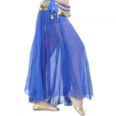 Fashion Front Openings Belly Dance Skirt