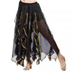 Fashion Lotus Leaf Style Belly Dance Skirt