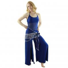 Semi-transparent 3-Piece Belly Dance Costume