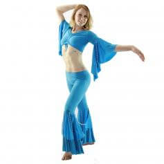 Bead String 2-Piece Belly Dance Costume(Belt no included)