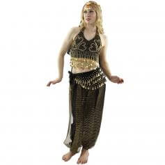 Beads curtain 5-Piece Belly Dance Costume
