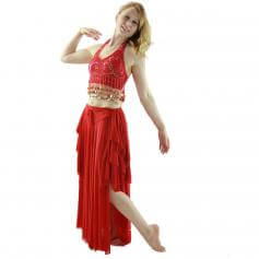 Coins 2-Piece Belly Dance Costume