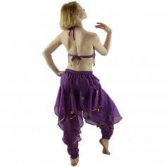 Hot Chilli 2-Piece Belly Dance Costume(Belt not included)