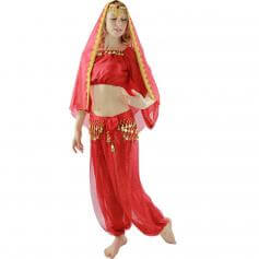 Long Sleeves Bloomer 5-Piece Belly Dance Costume