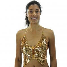 Fashion Butterfly Belly Dance Bra