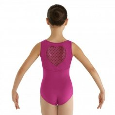 Bloch Child Miame Heart Mesh Tank Leotard