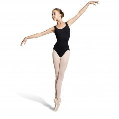 Bloch Peacock Plume Diamond Back Tank Leotard