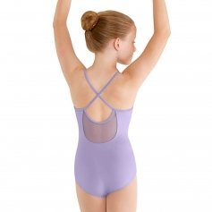 Bloch Child Soft Mesh X-back Camisole Leotard