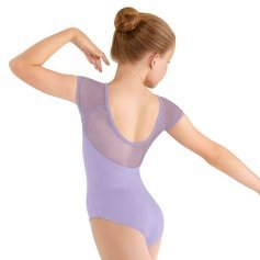 Bloch Child Soft Mesh Shoulder Cap Sleeve Leotard