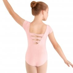 Bloch Child 3-Bow Back Cap Sleeve Leotard