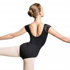 Bloch Peacock Plume Cap Sleeve Leotard