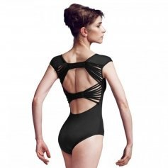 Bloch Back Bow Cap Sleeve Leotard