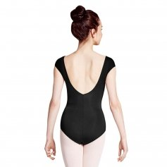 Bloch Weave Detail Cap Sleeve Leotard