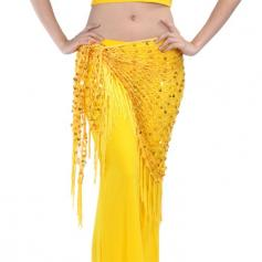 V-Shape Belly Dance Hip Scarves & Belts