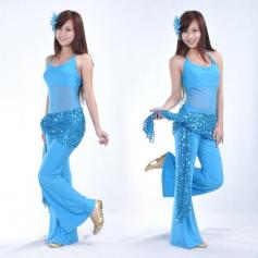 Belly Dance Hip Scarf With Paillette