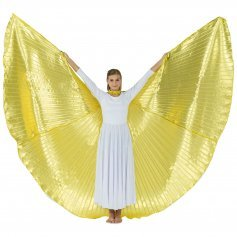 Solid Gold Worship Angel Wing [BW001]