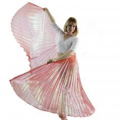 Iridescent Red Worship Angel Wing