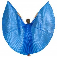 Solid Royal Blue Worship Angel Wing