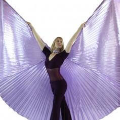 Solid Lavender Worship Angel Wing