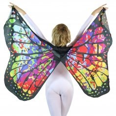 Danzcue Soft Colorful Butterfly Dance Wings