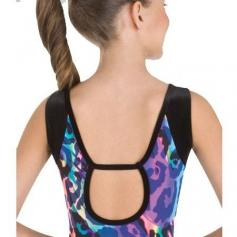 Body Wrappers Child Open Back Leotard