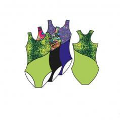 Body Wrappers Child Racerback Tank Leotard