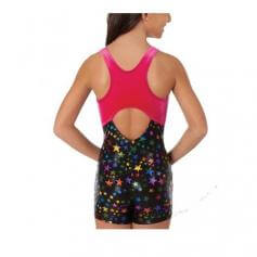 Body Wrappers Velvet Racerback Bike-A-Tard