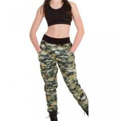 Body Wrappers Camouflage Harerm Pant
