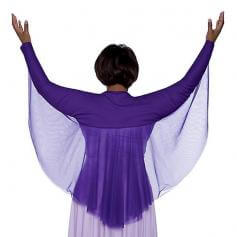 Angel Wing Shrug