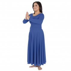 Body Wrappers Long Sleeve Praise Dance Dress