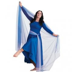 Body Wrappers Praise Dance Large chiffon dance drape