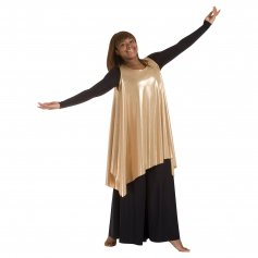 Body Wrappers Praise Dance Celebration of Spirit Drapey Pullover