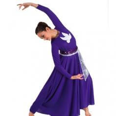 Praise Dance Power mesh sash