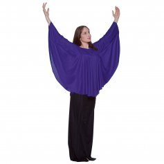 Body Wrappers Angel Wing Drapey Pullover