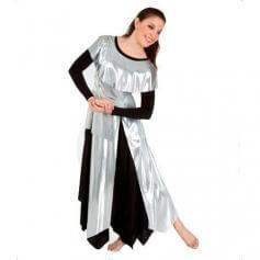 Bodywrappers Metallic Tunic Pullover [BWP577]