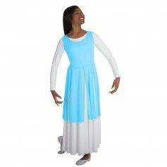 Body Wrappers Liturgical Dance Fly-Away Panel Tunic